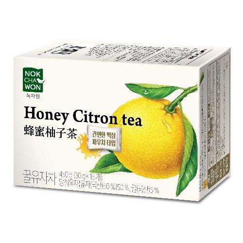 緑茶園 はちみつ ゆず茶 ゆず ティー パウチタイプ30g x 15袋