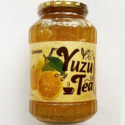 【送料無料】オットギ 蜂蜜 ゆず茶 1kg & WOORI 蜂蜜 ゆず茶 1kg 2瓶