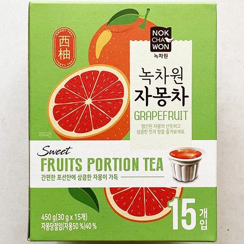 緑茶園 グレープフルーツ茶 ポーションタイプ 30g x 15個入り