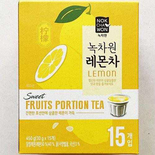 緑茶園 はちみつ レモン茶 ポーションタイプ 30g x 15個入り