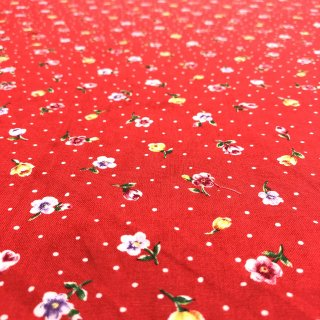 moda モダ ROSE PARADE CONFETTI FLOWERS/RED