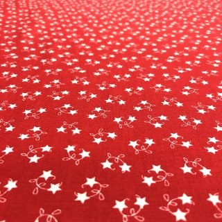 moda モダ WINTER WONDERLAND STAR VINE/RED WARK