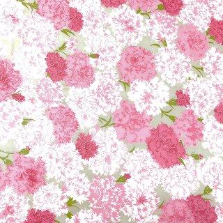 ヴィンテージ生地 花柄 ピンク