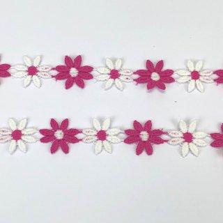 輸入ブレード 花 ピンク・ホワイト