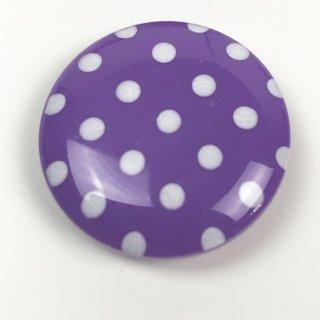 輸入ボタン ドットボタン2個セット 22mm パープル
