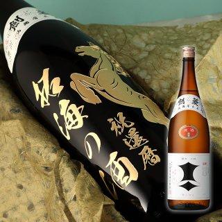 黄金色の辛口清酒 剣菱(一升瓶)