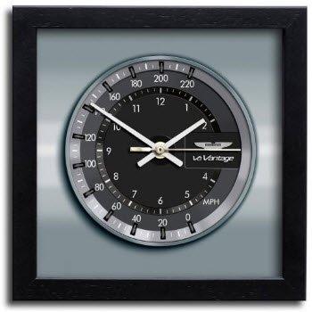 アストンマーチン ヴァンテージ V8 クラッシック クロノ スピードメーター アート プリント クロック 時計