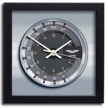 アストンマーチン DB9 クロノ スピードメーター アート プリント クロック 時計