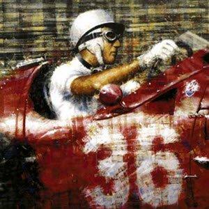 モータースポーツ アート マセラティ Maserati Victory by Juan Carlos Ferrigno