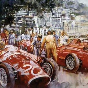 モータースポーツ アート マセラティ Maserati Team by Craig Warwick