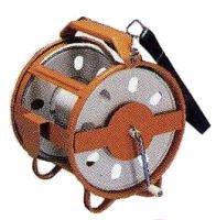 測量ロープ巻取器(ロープRケース)測量ロープ用 測量