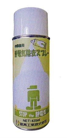 作業着用静電気除去スプレー12本入 作業着の静電気の発生を防止します