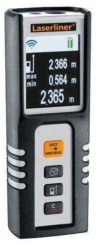 携帯型レーザー距離測定器 ディスタンスマスターコンパクト ワンタッチで目標までの距離をデジタル表示