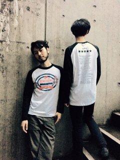 FIVE SOUL ROLL EP +1 ラグラン ロングスリーブTシャツ T-Shirt