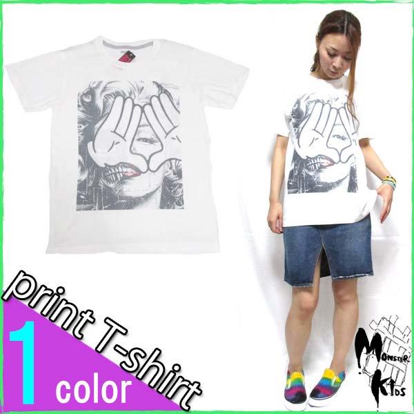 Tシャツ【DRAW UNCUT】 モンロー プロビデンスの目 Tシャツ