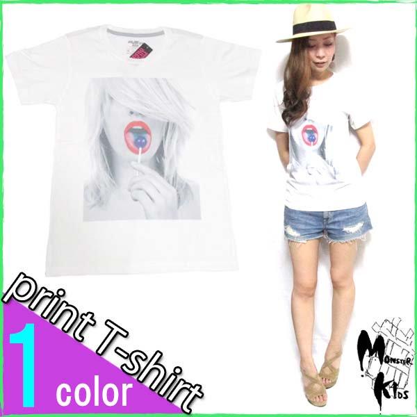 Tシャツ【DRAW UNCUT】 キャンディーポップ Tシャツ