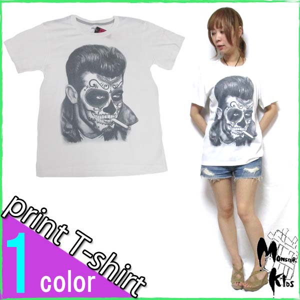 Tシャツ【DRAW UNCUT】 TATTOOED FACE Tシャツ
