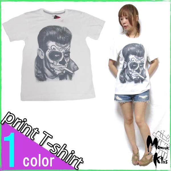 Tシャツ【DRAW UNCUT】 TATTOOED FACE Tシャツ