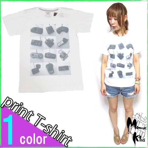 Tシャツ【DRAW UNCUT】 コントローラー Tシャツ