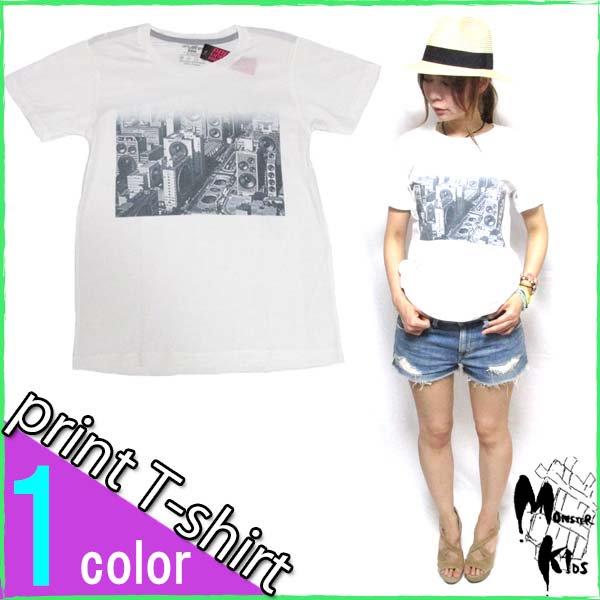 Tシャツ【DRAW UNCUT】スピーカータウン Tシャツ
