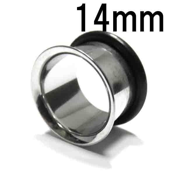 ボディピアス ラージゲージ スタンダードシングルフレアアイレット 【14.0mm】BPHF-01-14mm