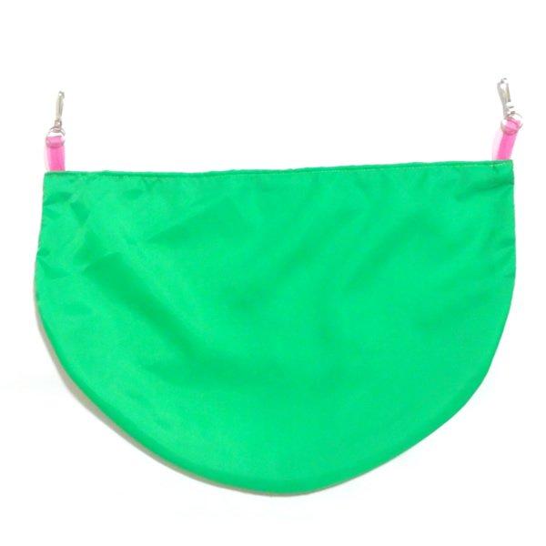蛍光グリーンカラーバムフラップ