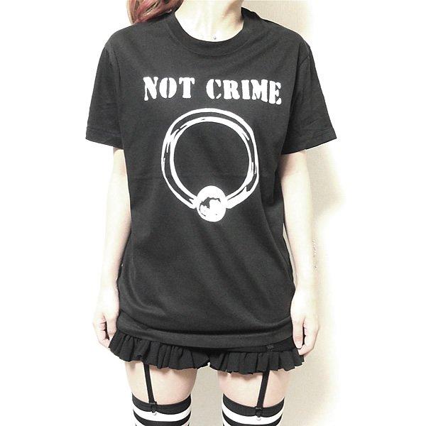 NOT CRIME(ノット・クライム) Tシャツ
