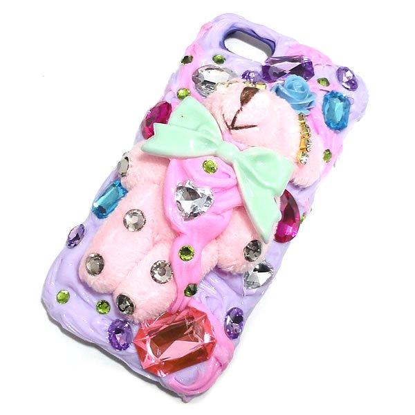 グロカワスマートフォンケース iphone5/iphone5s対応 【ファンタジーベア・1ヶ売り】