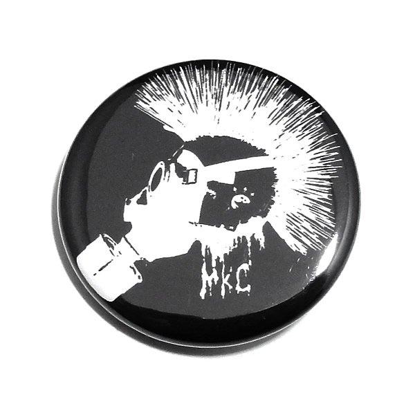 MONSTER KIDS缶バッジ 【スパイキーモヒカンガスマスク/32mm/1個】