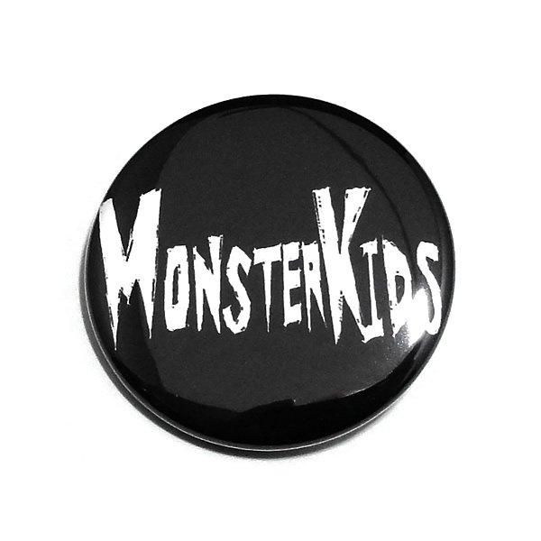 MONSTER KIDS缶バッジ 【MONSTER KIDS殴り書き/38mm/1個】