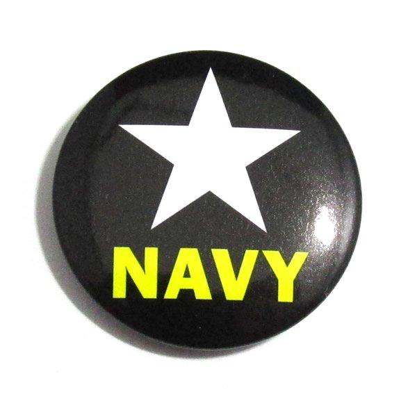 NAVY(ネイビー)缶バッジ 【30mm/1個】
