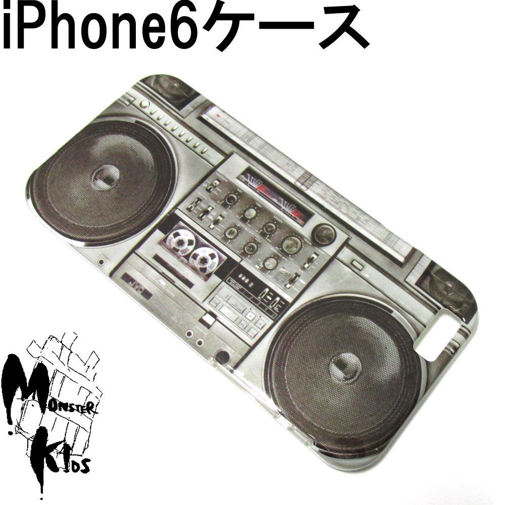 ラジカセデザイン TPUスマートフォンケース i phone 6用 【1ヶ売り】