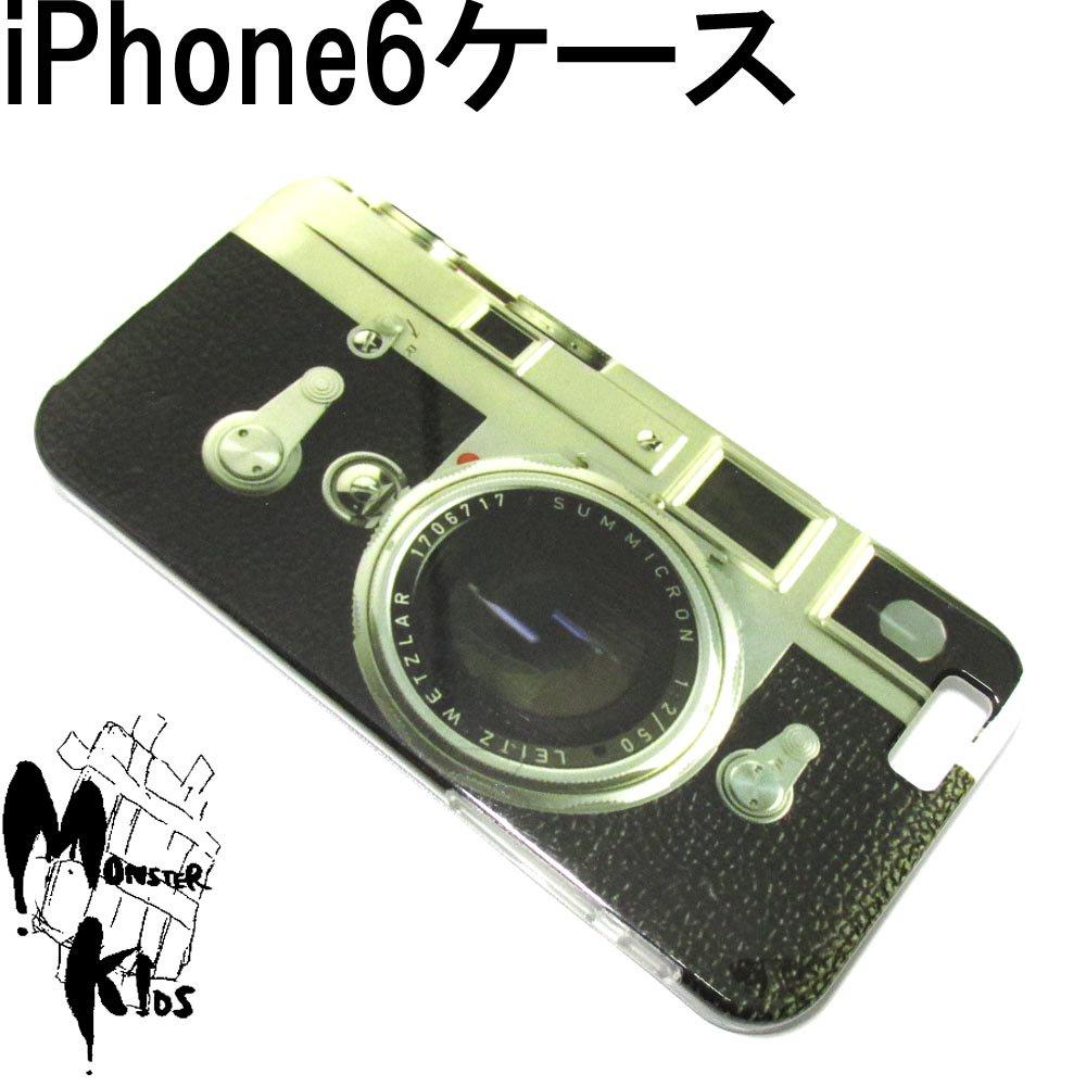 カメラデザイン TPUスマートフォンケース i phone 6用 【1ヶ売り】