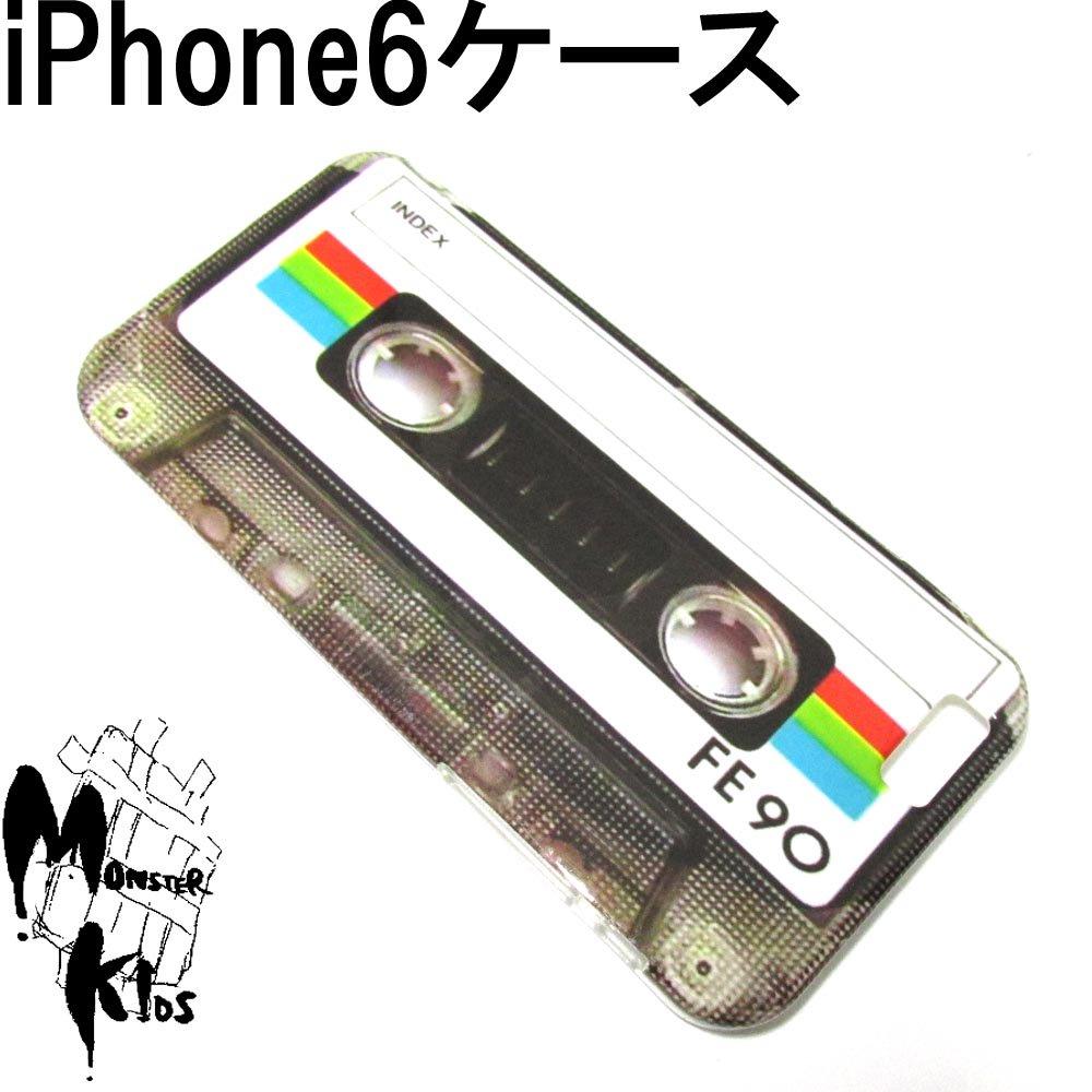 カセットテープデザイン TPUスマートフォンケース i phone 6用 【1ヶ売り】