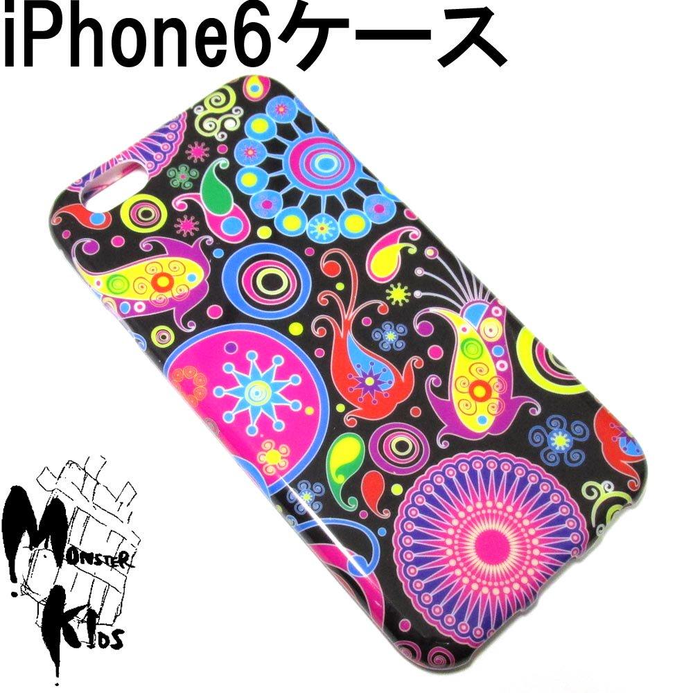 カラフルペインティングデザイン TPUスマートフォンケース i phone 6用 【1ヶ売り】