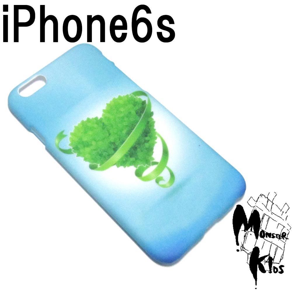 グリーンネイチャーハート スマートフォンケース i phone 6s 【1ヶ売り】