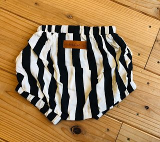 RAYON BABY BLOOMER  ( CIRCUS / IVORY x BLACK  )