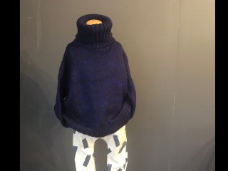 <40%OFF>  [WEBSTORE限定]   Tautle Sweater(NAVY MIX)
