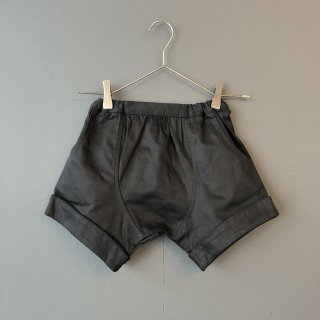 arkakama BASIC : Twill Sarouel Shorts ( BLACK  )