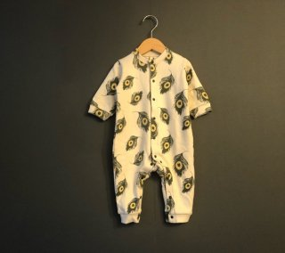 SPD  BABY COVERALL (peacock)