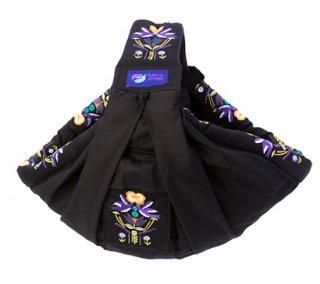 【BaBa sling】 Peace&Dove black