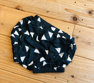 RAYON BABY BLOOMER  ( ▲/CHARCOAL  )
