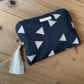 ▲Triangle small porch  ( CHARCOAL × IVORY )