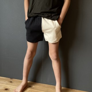 <img class='new_mark_img1' src='https://img.shop-pro.jp/img/new/icons14.gif' style='border:none;display:inline;margin:0px;padding:0px;width:auto;' />arkakama BASIC : SPD SUMMER SHORTS ( IVORY/BLACK )