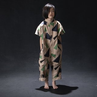 <img class='new_mark_img1' src='https://img.shop-pro.jp/img/new/icons14.gif' style='border:none;display:inline;margin:0px;padding:0px;width:auto;' />arkakama 21SS / COTTON SHIRT Jumpsuit  ( ups and downs )