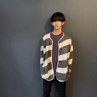 <img class='new_mark_img1' src='https://img.shop-pro.jp/img/new/icons14.gif' style='border:none;display:inline;margin:0px;padding:0px;width:auto;' />TuNO 21AW  :  STRIPEST WIDE Jacket SW