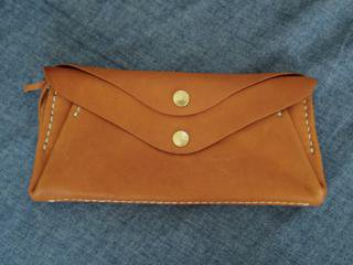 softnume 2button long wallet