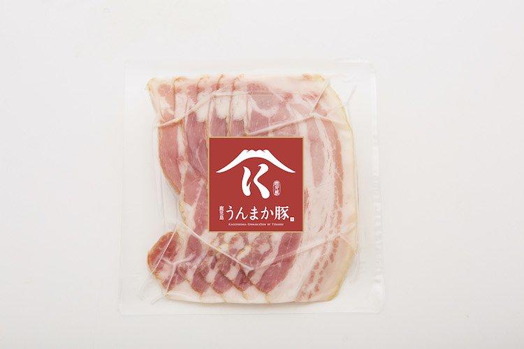 鹿児島うんまか豚 ベーコン 50g