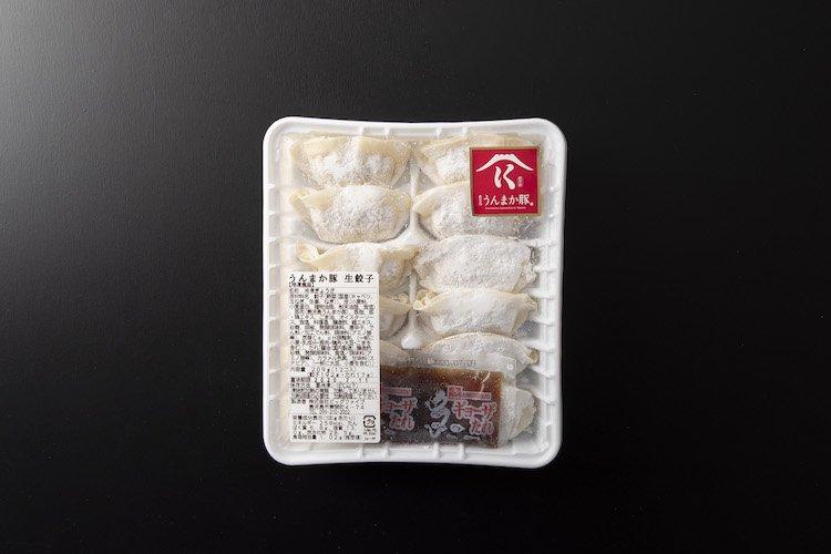 鹿児島うんまか豚 生餃子12個入