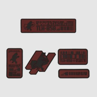 BPRE SERIES 3 PATCH SET (QRF RED)
